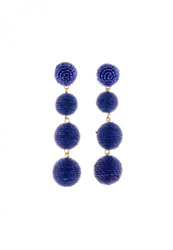 Style Cat blue and purple Style Cat Palm Springs Ball Earrings 1E1F6AC53295A3GS_1