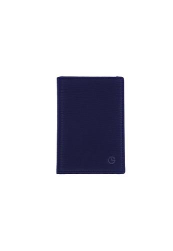 Goldlion black Goldlion Men Leather Cardholder Wallet (4 Cards Slot) 85D04ACD562D81GS_1
