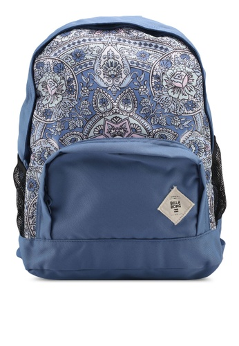 Billabong blue Long Lost Backpack BI783AC0SZBLMY_1