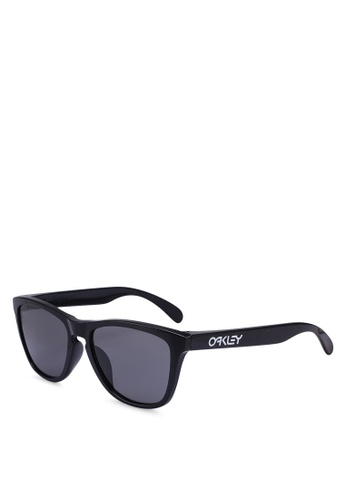 ad14567a3c Oakley black Oakley Performance Lifestyle Frogskins OO9245 Sunglasses  D0EABGL18CCB23GS 1