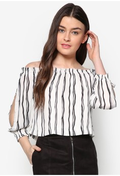 Love Soft Shell Off Shoulder Top