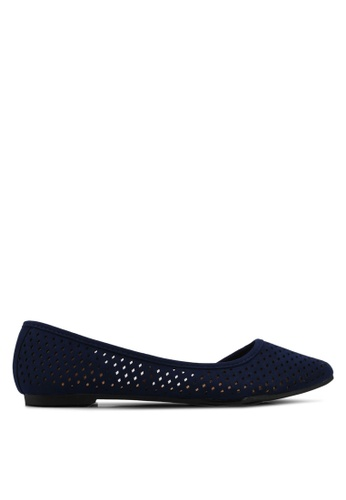 Rubi navy Piper Laser Point Flats 0F51FSH4CDCC9AGS_1