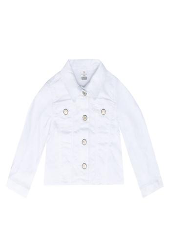 LC Waikiki white Gabardine Jacket 838D4KA7E3D597GS_1
