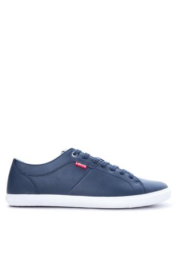 Levi's blue Woods Sneakers LE892SH19PTCPH_1