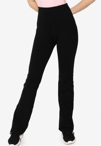 Lorna Jane black Desire Full Length Bootleg Pants 6ED76AA75B96F7GS_1