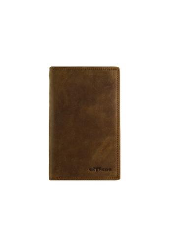 EXTREME Extreme RFID Genuine Leather Medium Long Wallet 575DBAC88FE3C6GS_1