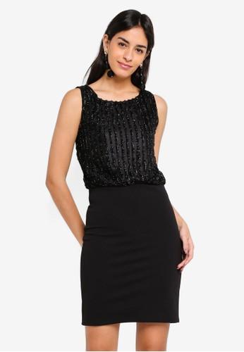 Vero Moda black Shane Short Dress 999DFAA41FEC53GS_1