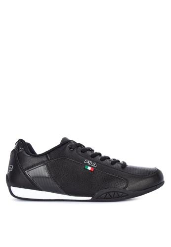 Fila black Mt Shield Sneakers 5580DSHF9BA9D8GS_1