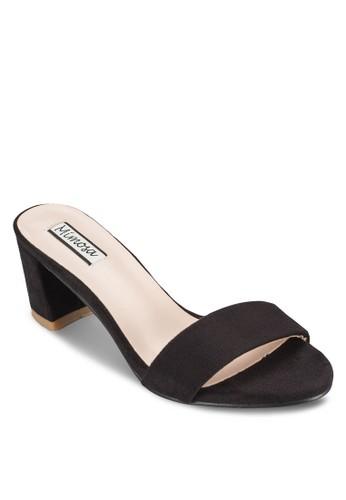 一字帶中高跟涼鞋, esprit 內衣女鞋, 中跟