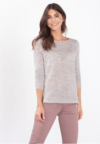 素色長袖織衫、 服飾、 服飾ESPRIT素色長袖織衫最新折價