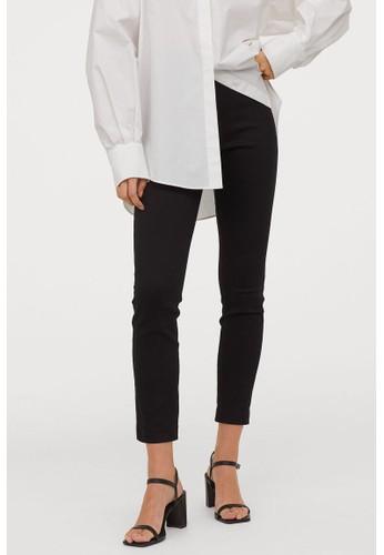 H&M black Superstretch trousers C31C3AA2002EB3GS_1