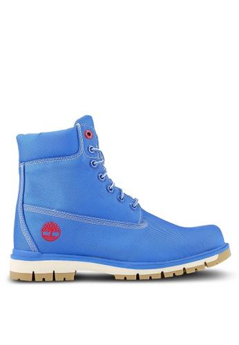 Timberland blue Radford Canvas Boots TI063SH0RP73MY_1