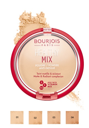 Bourjois beige Bourjois Healthy Mix Powder AntiFatigue - 01 Vanilla 66717BE15B0DFBGS_1