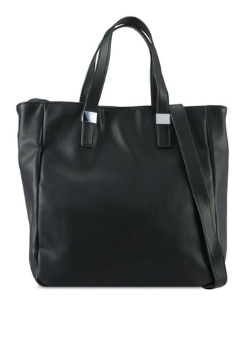 Something Borrowed black Small Tote Bag 5D1C5AC788E211GS_1