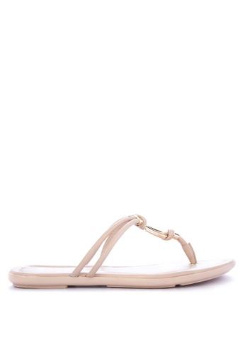 ALDO beige Kederravia Slide Sandals B191BSH3B7C3F0GS_1