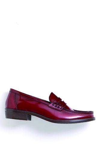 HARUTA red Color Loafer-230 53E0ESH72712B7GS_1