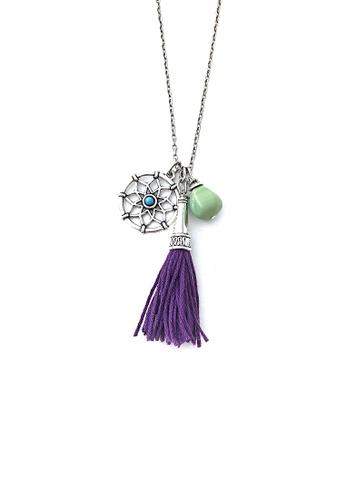 Shop Trinkets For Keeps Dream Catcher Tassel Necklace Online On Gorgeous Dream Catcher Necklace Philippines