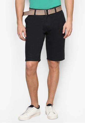 腰帶百慕達esprit mongkok短褲, 服飾, 短褲