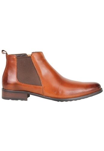 Tomaz brown Tomaz HC001 Formal Boots (Brown) 9087ESHDB477FCGS_1
