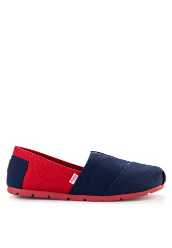 Wakai red and multi and navy Chuo 900D1SH22CADBCGS_1