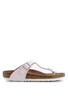 9a28d535e095 Birkenstock pink Gizeh Sunkissed Sandals 59851SHEA63C6CGS 1