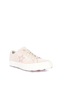 775a1146d5f 20% OFF Converse One Star Love Metallic Sneakers Php 4