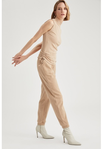 DeFacto brown Woman Knitted Trouser 343FAAA81D5663GS_1