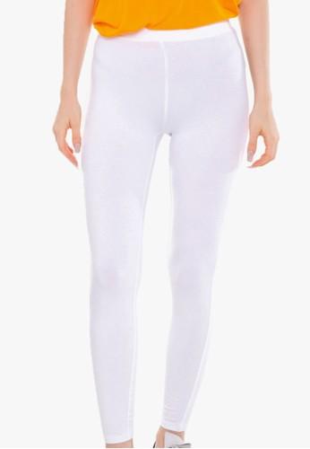 MARKS & SPENCER white Full Length Viscose Legging 0963DAAE7A882AGS_1