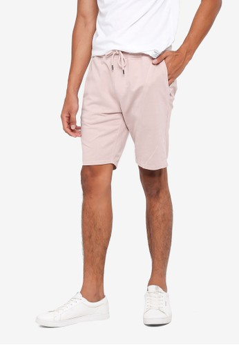 Only & Sons brown Knox Sweat Shorts C653FAACF4DC99GS_1