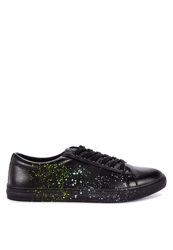 BENCH black Lace Up Sneakers B5ECESHE7CD4EBGS_1