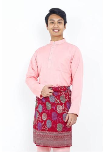 STARVILION pink Dominique Baju Melayu A06ABAA7DDE801GS_1