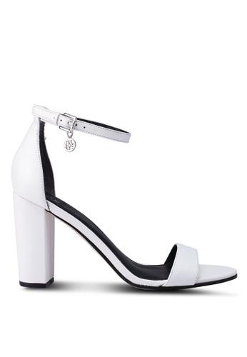 5c119e5dc Buy Guess Bamboo Sandal Leather Block Heels Online on ZALORA Singapore