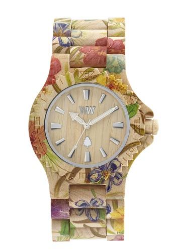 WEWOOD beige Date Flower Beige Watch 42mm DFADAACBBC17A7GS_1