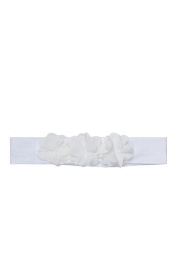 Du Pareil Au Même (DPAM) white White Hairband AE24FKC318F782GS_1