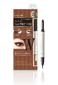 1Day Tattoo Essence in Shadowliner Black x Brown 01