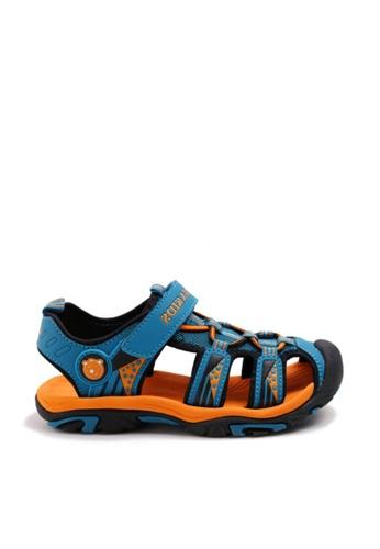 Twenty Eight Shoes 海軍藍色 VANSA 舒適網布涼鞋 VSK-ST02 9AA64KS13A330CGS_1