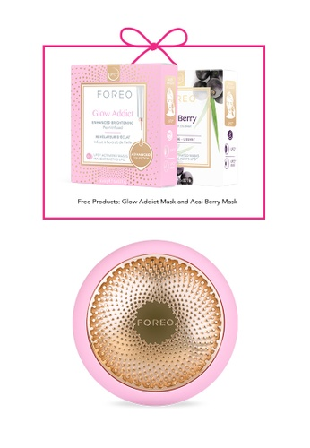 FOREO pink UFO™ 2 Pearl Pink Power Mask Treatment Device for All Skin Types 0565EBE699CBAFGS_1