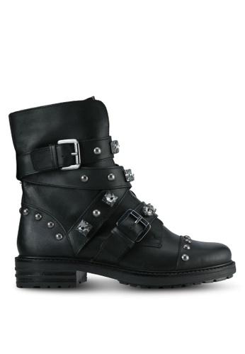 Carvela KG black Black Leather Boots CA459SH0SCLMMY_1