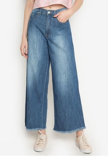 NEXT blue Wide Leg Jeans 1C6F9AAC1D3FA1GS_1