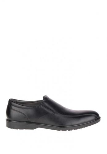 Hush Puppies black Onchu Ledger Waterproof Dress Casual Shoes HU326SH0J3H0PH_1