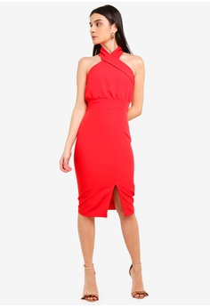 aed768c9a2 44% OFF Vesper Olli Dress With Front Split S  94.90 NOW S  52.90 Sizes 6 8  10 12 14 · Vesper black Ida Frill Hem Midi Dress 7EF26AA749414EGS 1