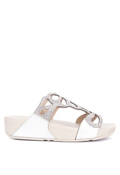 0adaf37a5214 FitFlop. Bumble Crystal Slides