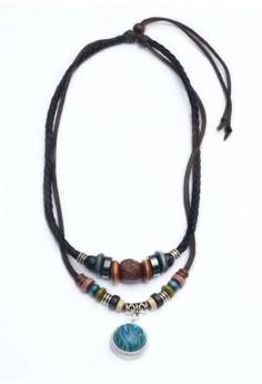 Retro Leather Necklace