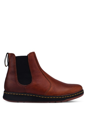 Dr. Martens brown DM's Lite Casual Grayson Chelsea Boots B3A2ESH7221988GS_1