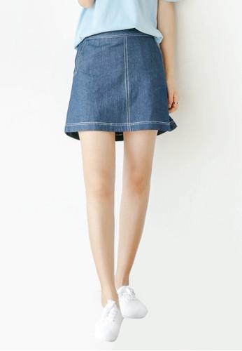 Iris 丹寧短裙, esprit台灣網頁服飾, 裙子