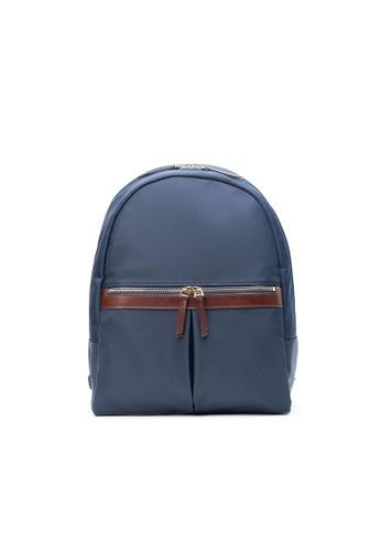 Maverick & Co. navy Maverick & Co. Ernest Light Nylon Day Backpack - Navy 1BE82ACB498994GS_1