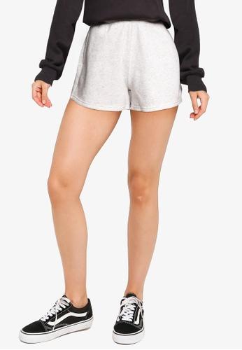 Hollister grey Dad Knit Shorts C7099AAFE7186BGS_1