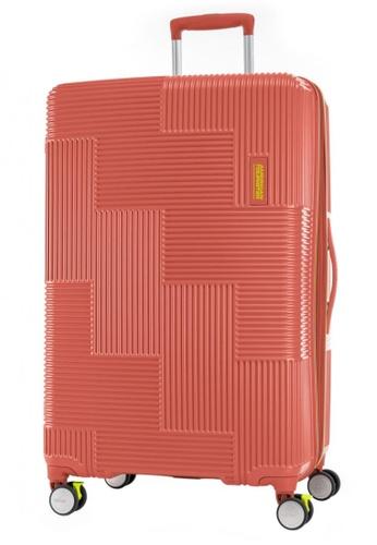 American Tourister red American Tourister Velton Spinner 81/30 Exp TSA V1 48178AC34764CFGS_1