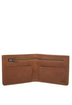 REID Minimalism Bi-fold Wallet with Internal Pocket