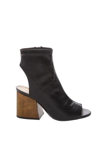 SCHUTZ 黑色 黑色納帕皮革踝靴-LANA [黑色] CA263SH6ACA434GS_1